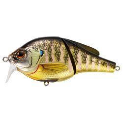 """Sunfish Bluegill Wakebait Freshwater, 3"""""""""""""""", #4 Hook, 0'-1' Depth, Natural/Gloss"""