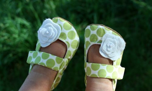 how to make cute baby shoes