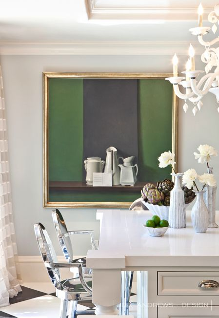 Jeff Andrews Design Kris Jenner Kitchen with VIETRI