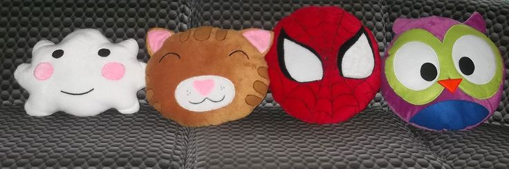 Bantal Karakter  #CutePillow #Spiderman www.flanellucu.com