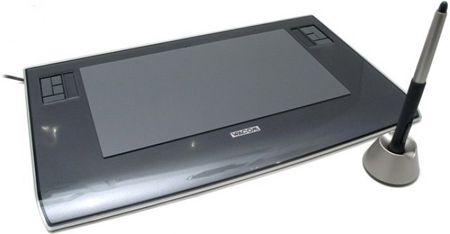 My favorite and still the best one - the old, heavy duty Wacom Intuos 3 wide