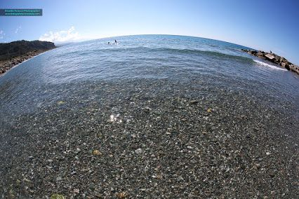 #fotografia grandangolare. Il mare in Calabria.