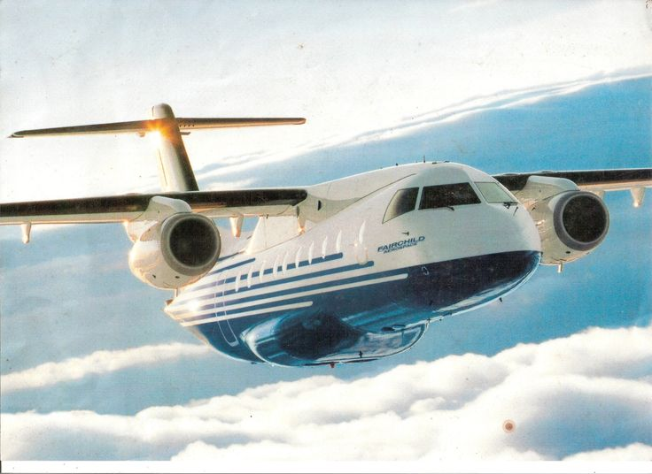 Fairchild Dornier 328JET - Is a Commuter Airliner Based upon the Turboprop Powered Dornier 328 - Built by the German Aerospace Firm Dornier in 1996 the Firm was Acquired by US Fairchild Aircraft Co.