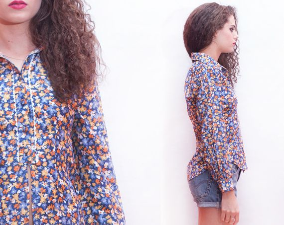 NEW IN!! Vintage shirt / blouse 1980s: http://marlet-shop.com/collections/tops/products/vintage-shirt-1980s