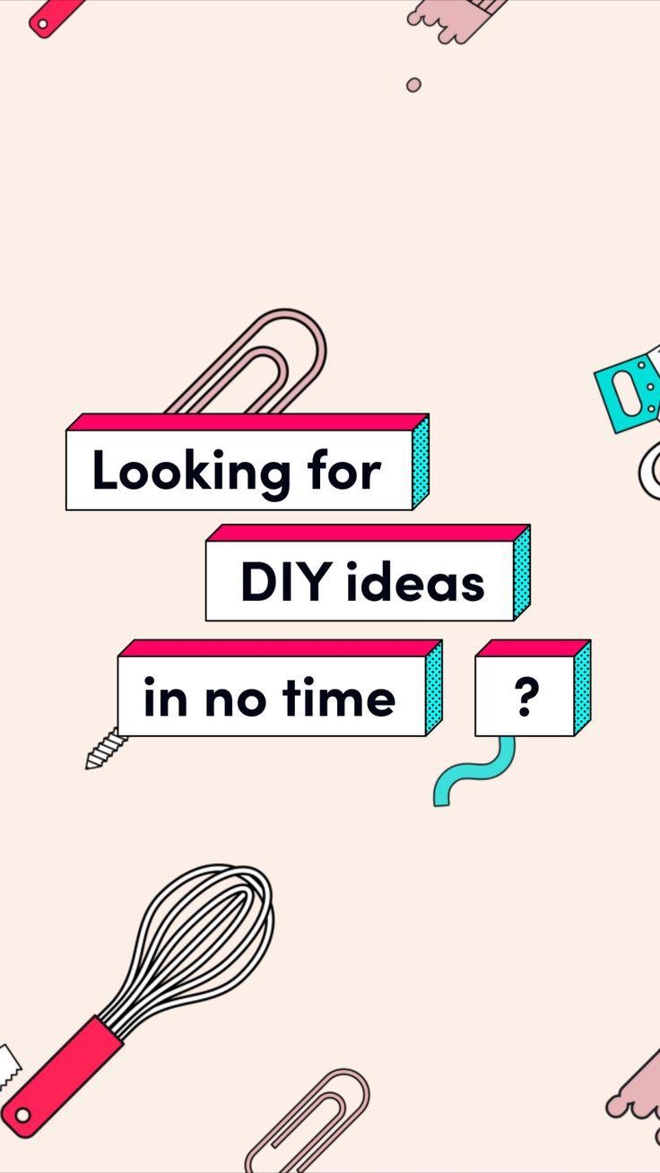 Find your DIY ideas on TikTok