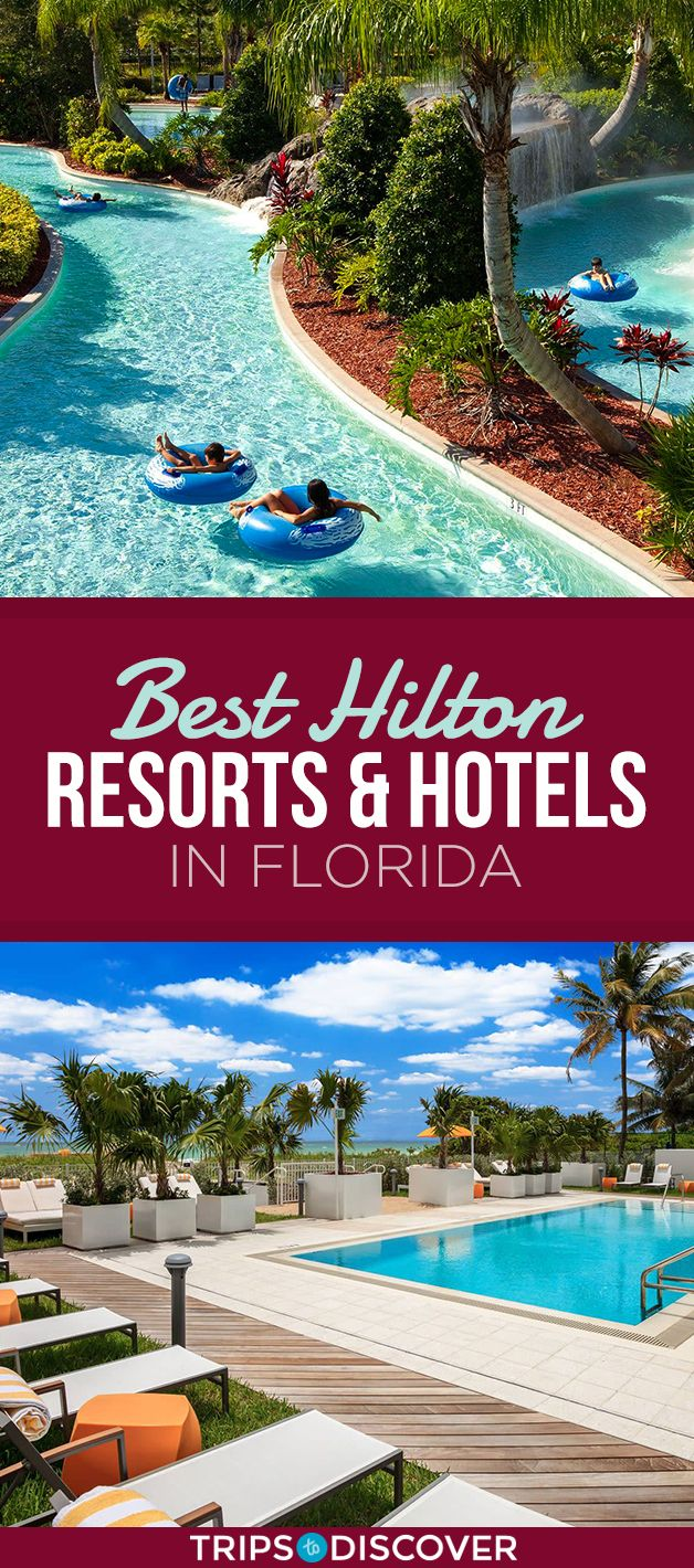 10 Best Hilton Hotels And Resorts In Florida Tripstodiscover Florida Hotels Florida Resorts Hotels And Resorts