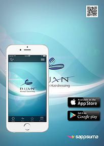 Bijan hair and nail salon in situated at Atholl Square Sandton