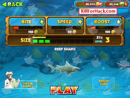 Hungry Shark Evolution Hack and Cheats - Unlimited Gems App, Unlimited Coins App