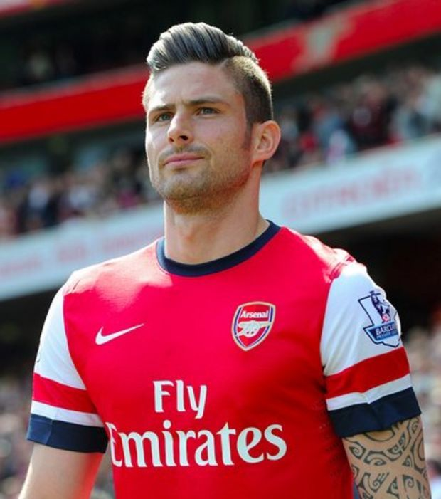 8 - Olivier Giroud (Arsenal) 40,9 millions
