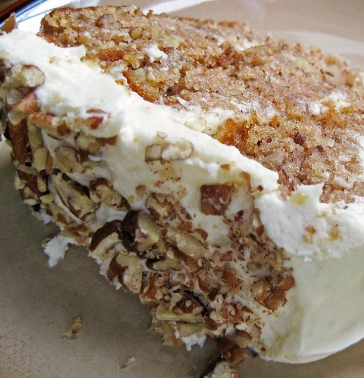 Hummingbird cake is a southern specialty. With all the cream cheese, pineapple, banana, and pecans it sure seems southern to me! Whether or not it's truly traditional, as long as it's delicious! [kitchenbug-your-recipe-appears-here-18858] For full directions please visit:AHintofHoney.com   Related