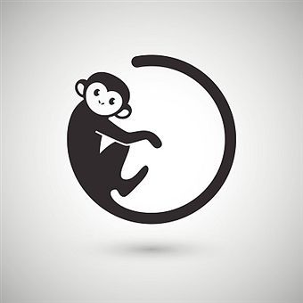 The 21 best chinese monkey tattoo outline images on for Year of the monkey tattoo