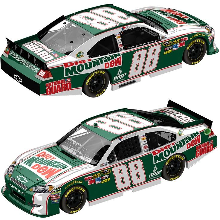 Action Racing Collectbiles Dale Earnhardt, Jr. '11 Diet Mountain Dew #88 Impala, 1:24 - 1:24 Standard - NASCAR.COM SUPERSTORE