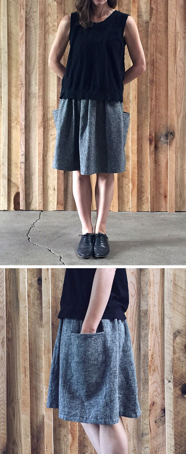 May make No. 1: the Gathered Skirt