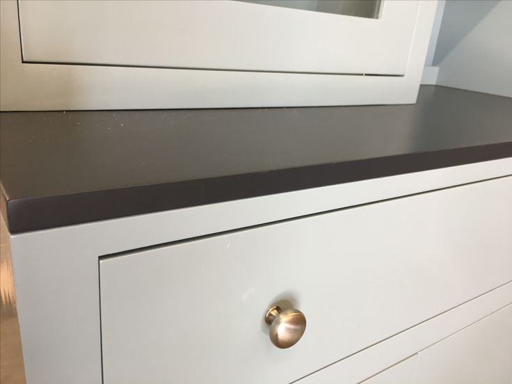 A Bespoke Dresser. The Paint Was Colour Matched To Our Customers Existing  Kitchen Units.