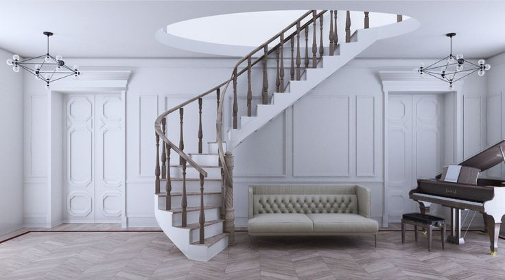 Boiseries and Stairs