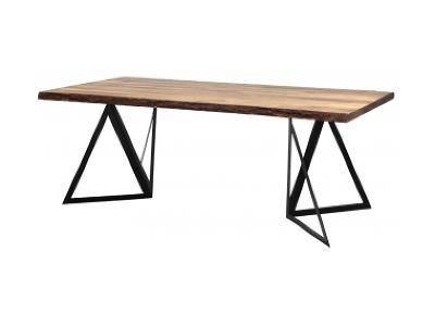 Jídelní stůl Masiv 240 - podnož černá Homebook:2168 NordicDesign