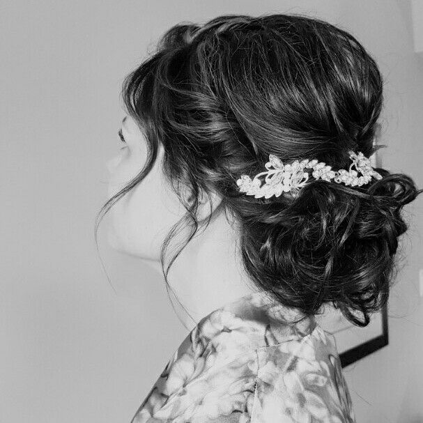 Wedding hair, bride hair, bridesmaid hair, updo