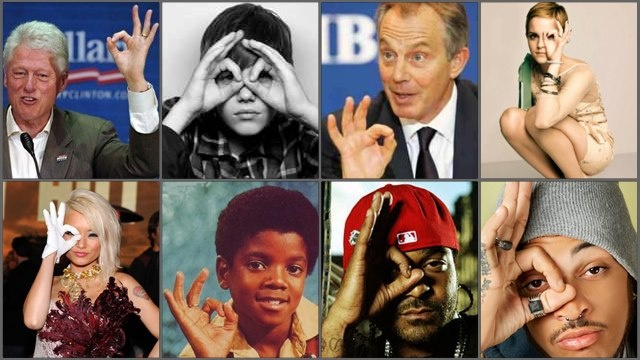 Imagery A Ok 666 Hand Signs Some One Eye Symbolism