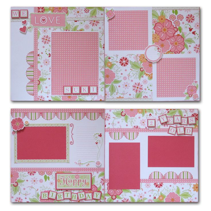 layouts by Annette Green using CTMH Sophia paper (retired)... love these.... (change titles)
