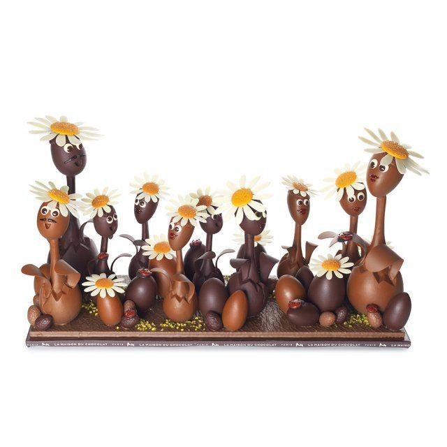 La famille Pâquerette - La Maison du Chocolat