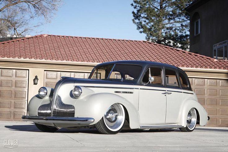 Harold Wiley's '39 Buick, built by Kindig It, Salt Lake City, Ut