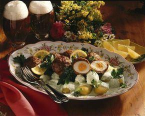 Unser beliebtes Rezept für Schottische Eier mit Kräutersoße und mehr als 55.000 weitere kostenlose Rezepte auf LECKER.de.