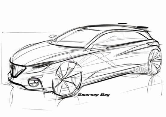 Alfa sketch by Swaroop Roy