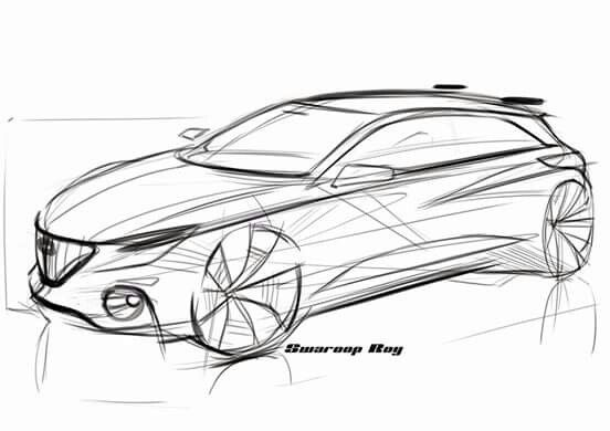 Alfa sketch by Swaroop Roy