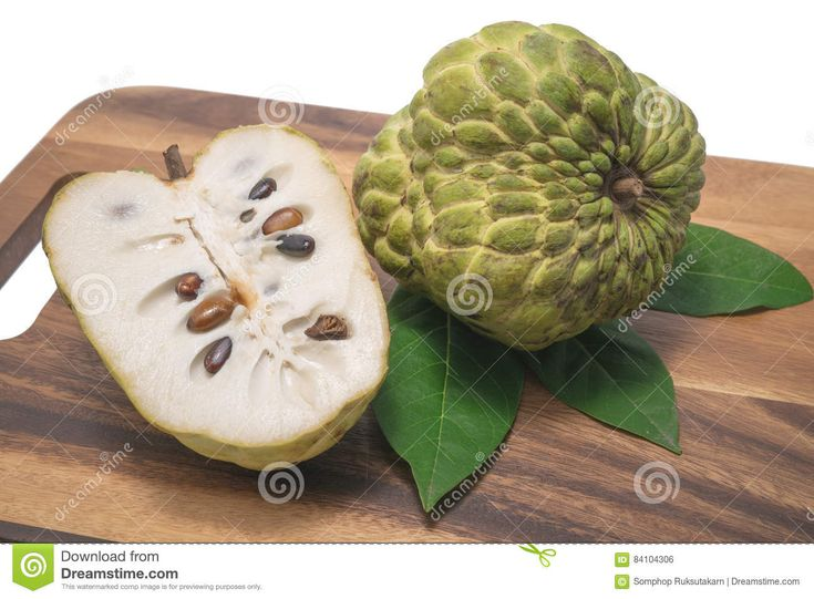 Custard Apple On White Background. - Download From Over 60 Million High Quality Stock Photos, Images, Vectors. Sign up for FREE today. Image: 84104306