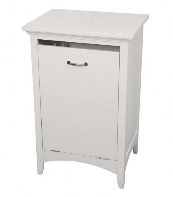 bathroom cabinet hamper pull out laundry hamper for the bathroom bathroom ideas 11054