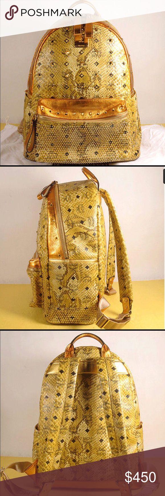 MCM Bookbag Its brand new MCM Bags Backpacks