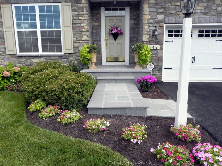 How To Transform Your Cracked Concrete Steps Into A Warm Welcoming Entryway