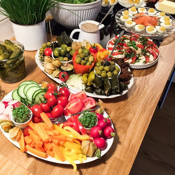 Partybuffet-Inspiration {Abendbrot für die Einweihungsparty} (Dreierlei Liebelei) – Magda Lena