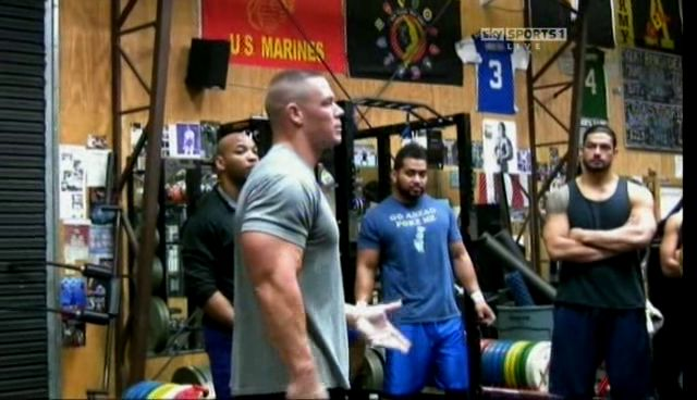 1000 images about roman reigns in the gym on pinterest - John cena gym image ...
