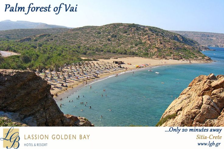 Irresistible Palm Forest of Vai... only 20 min away! Sitia - Crete