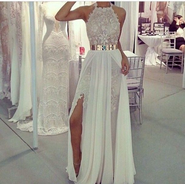 white dress white fashion lovely pepa wedding dress beach wedding