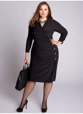 O'Hara Dress in Black will be great for work and with the right accessories after work.