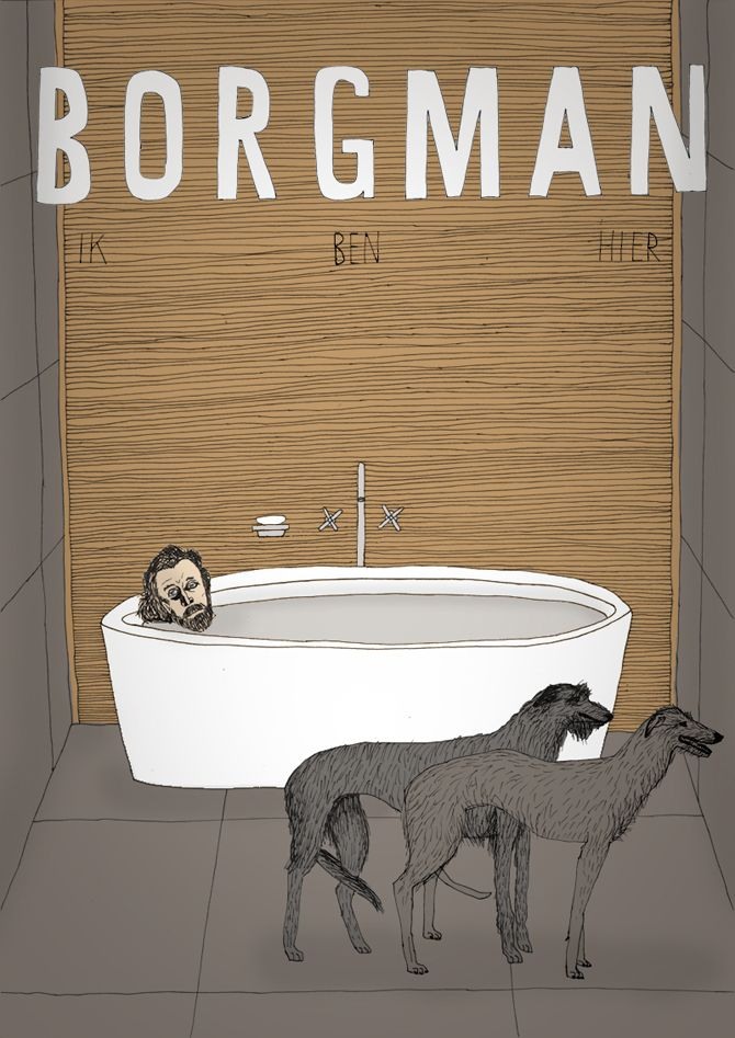 Made by Marianne Lock / Alternative Movieposter /  Borgman / Film / Poster / FOR SALE