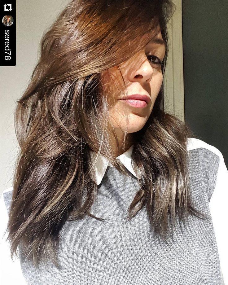 Grazie  @sered78  bellissima #instapic ..#nice #new #look...WE❤️U.... @chiara_hairdressing