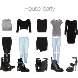Kylie inspired outfits for a house party                                                                                                                                                     More