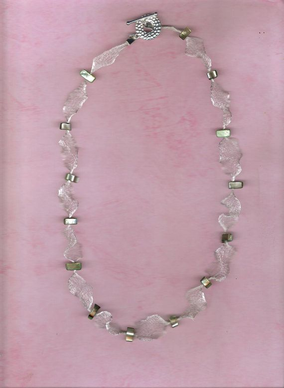 Wire mesh necklace
