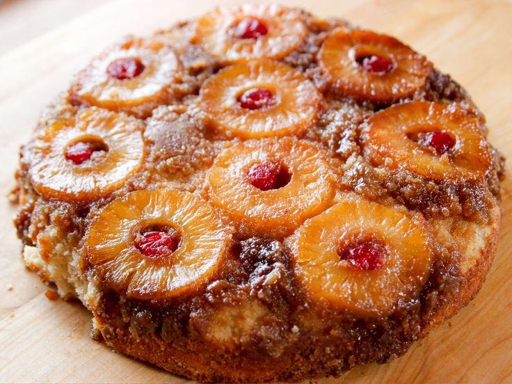 Pioneer Woman/Pineapple Upside-Down Cake recipe from Ree Drummond via Food Network