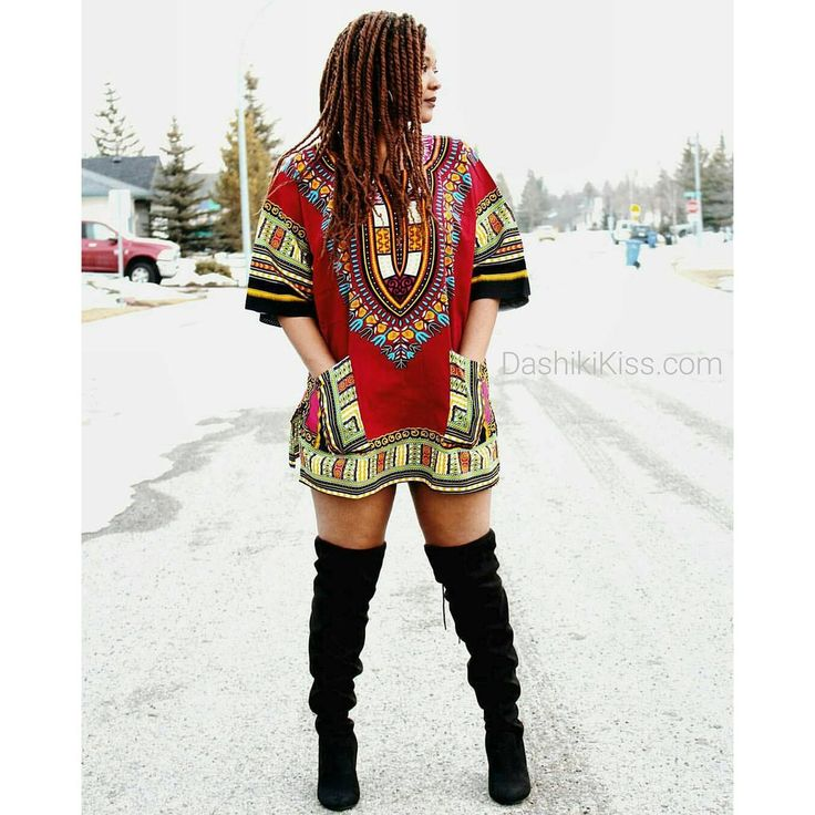 Burgundy African Dashiki Shirt Only $15