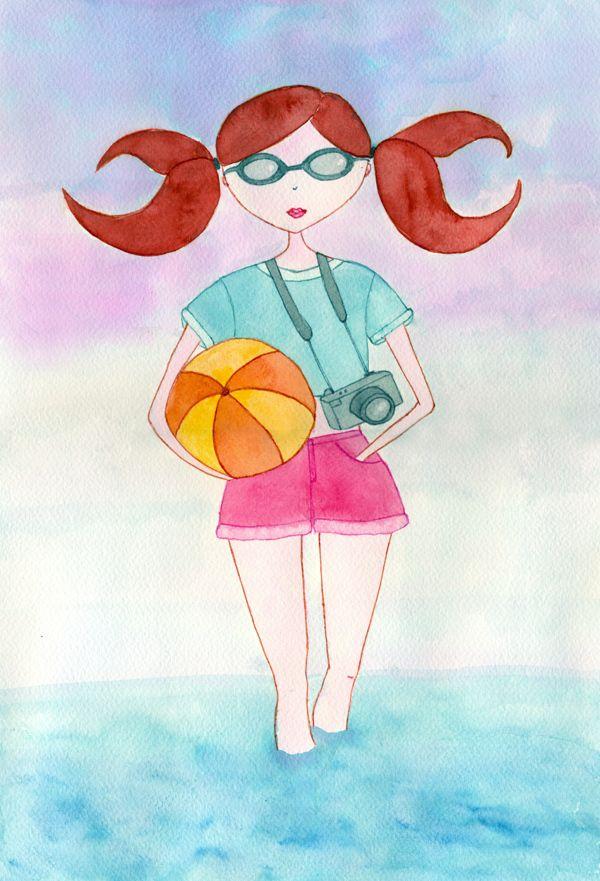 Zodiac by Cristina Creanga, via Behance / Cancer Sign