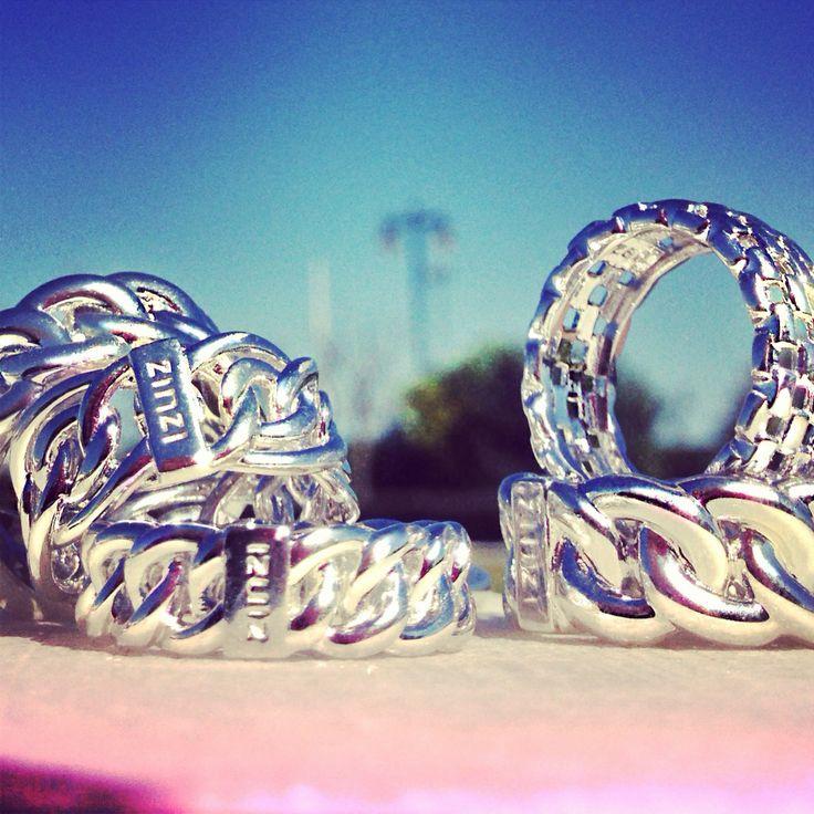 Stoere zilveren ZINZI ringen!