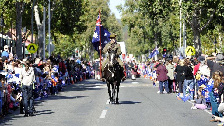 Anzac day in Wagga