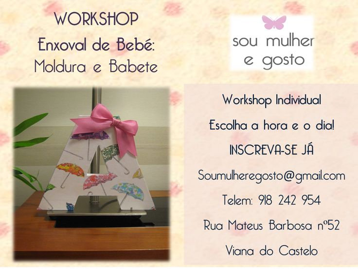 Workshop individual- Moldura e Babete