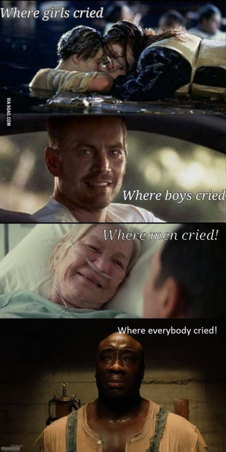 Where everybody cried!