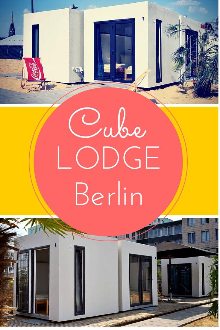 Mitten in Berlin auf einer der größten Beachvolleyball-Anlagen Europas - 3 Tage für 2 Personen nur 69€ > http://www.reiseuhu.de/?p=2378 #würfelhotel #berlin #crazyhotels #CubeLodge #travel #reiseuhu #urlaub #citytrips