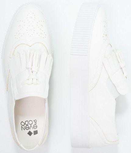 Even&Odd Półbuty wsuwane white